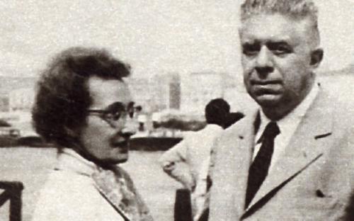 Eugenio Montale e Drusilla Tanzi.