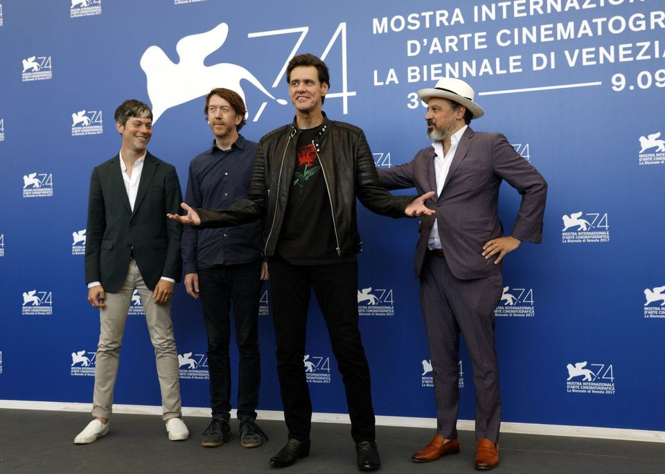 Italy Venice Film Festival Jim & Andy: The Great Beyond - The Story of Jim Carrey & Andy Kaufman Featuring a Very Special, Contractually Obligated Mention of Tony Clifton Photo Call