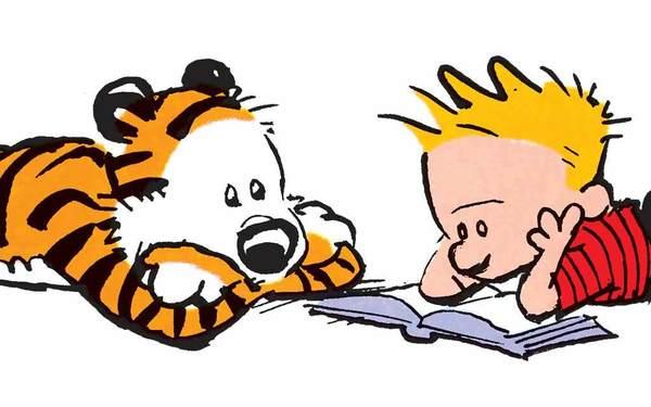 I dolori del giovane Editore secondo il Vangelo di Calvin e Hobbes