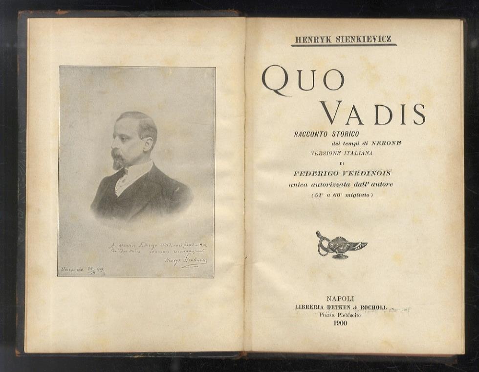 Federigo Verdinois, l'intellettuale dimenticato